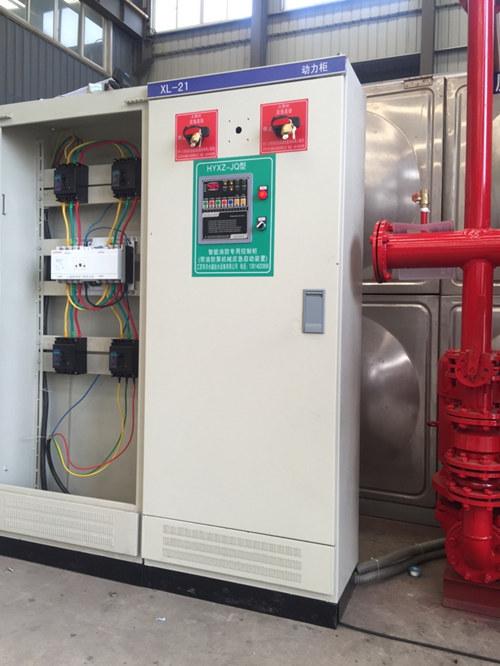 若继电器和弱电信号故障不能自动启动消防泵时,应依靠消防泵控制柜